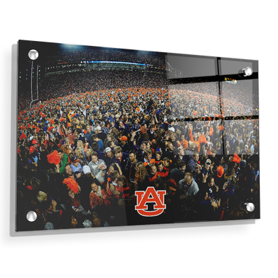 Auburn Tigers - Iron Bowl Storm the Field - College Wall Art#Acrylic