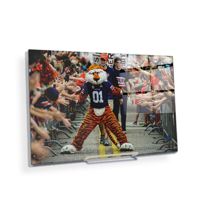 Auburn Tigers - Aubie at the Tiger Walk - College Wall Art#Acrylic Mini