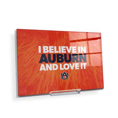 Auburn Tigers - I Believe in Auburn - College Wall Art#Acrylic Mini
