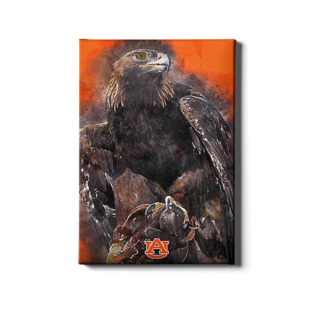 Auburn Tigers - War Eagle Paint - College Wall Art#Canvas