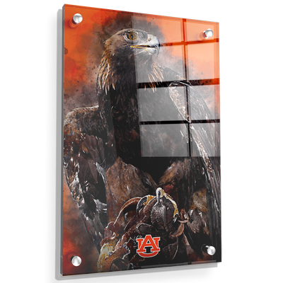 Auburn Tigers - War Eagle Paint - College Wall Art#Acrylic