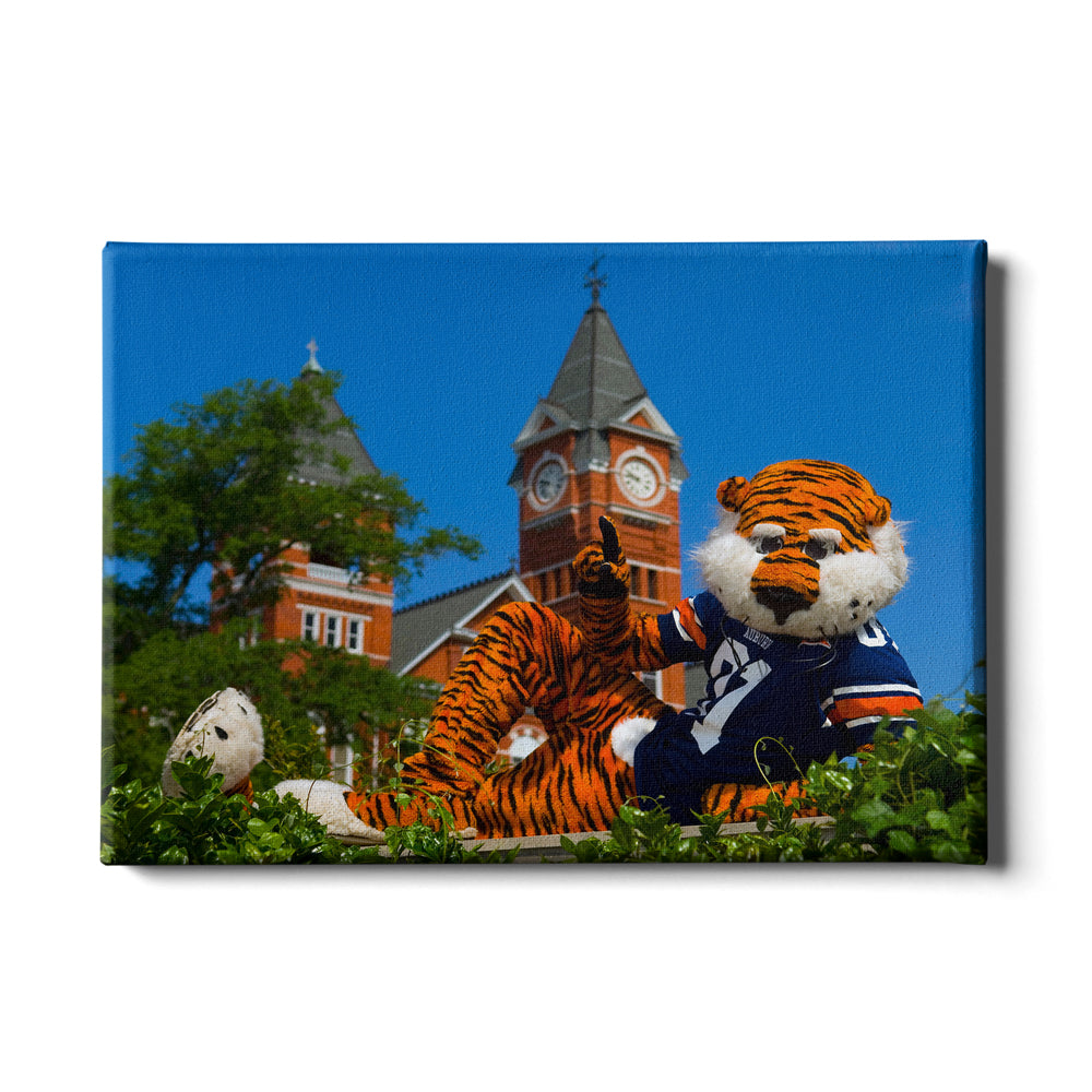Auburn Tigers - Aubie - College Wall Art#Canvas