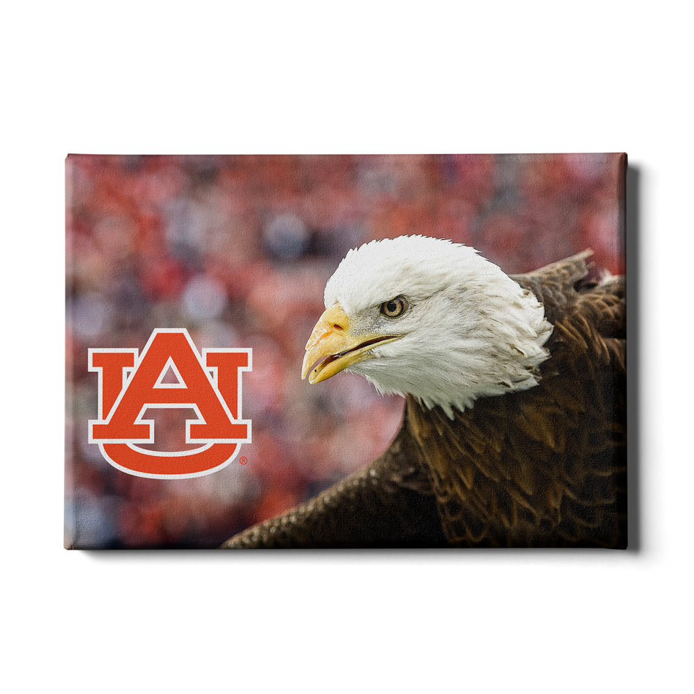 Auburn Tigers - War Eagle Up Close - College Wall Art#Canvas