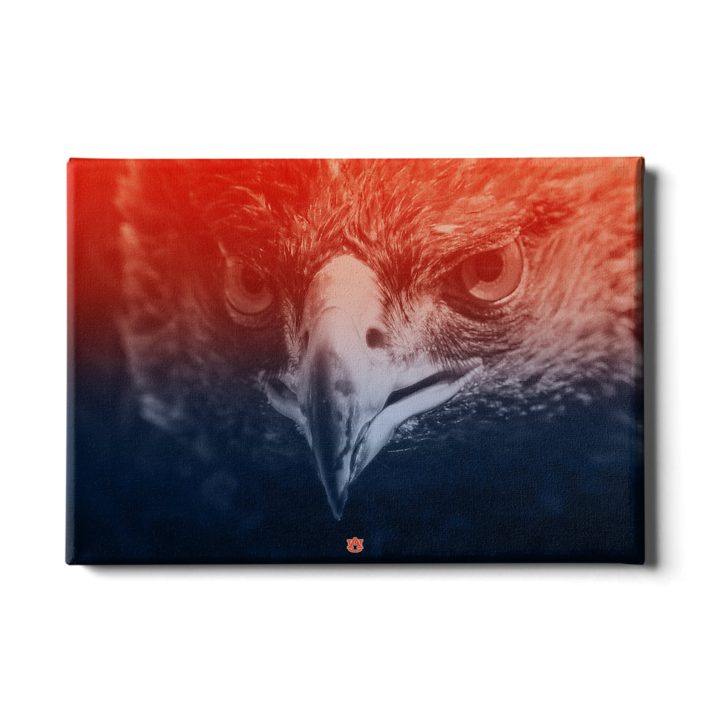Auburn Tigers - Greetings War Eagle - College Wall Art#Canvas