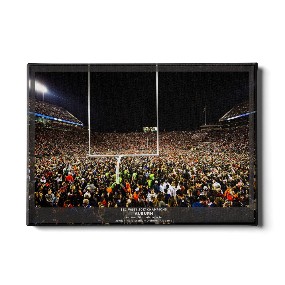 Auburn Tigers - Iron Bowl Champs 2017 - College Wall Art#Canvas