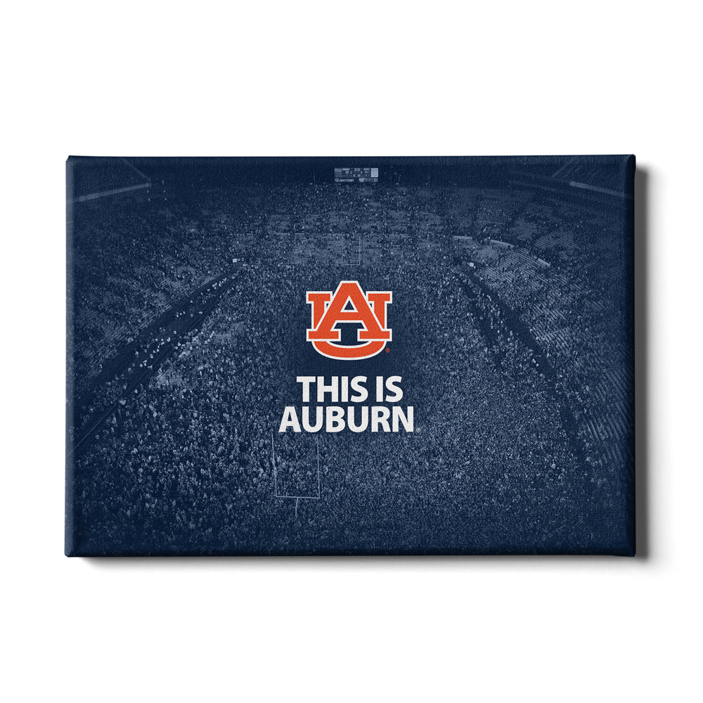 Auburn Tigers - This is Auburn Iron Bowl - College Wall Art#Canvas