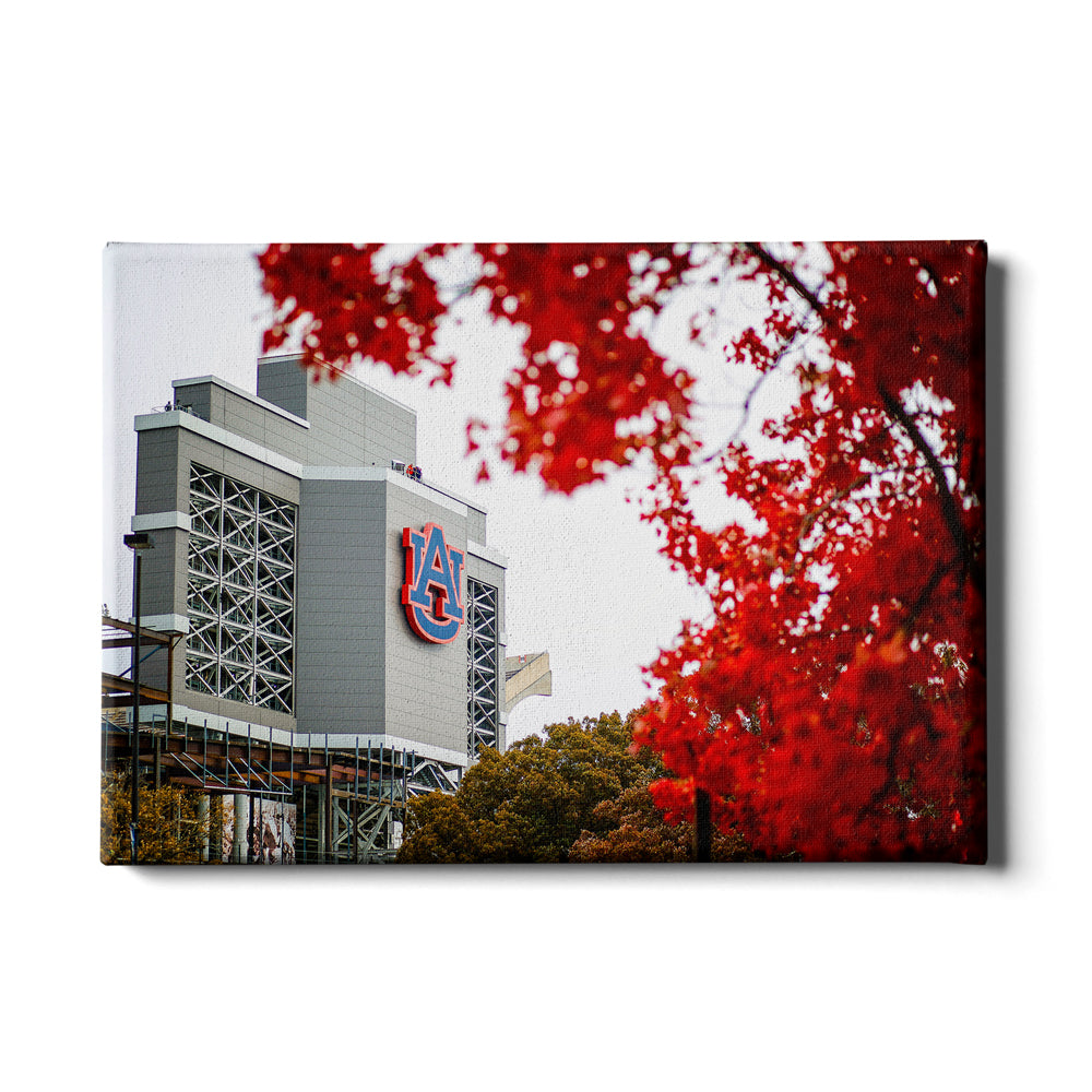 Auburn Tigers - Auburn Autumn Day - College Wall Art#Canvas