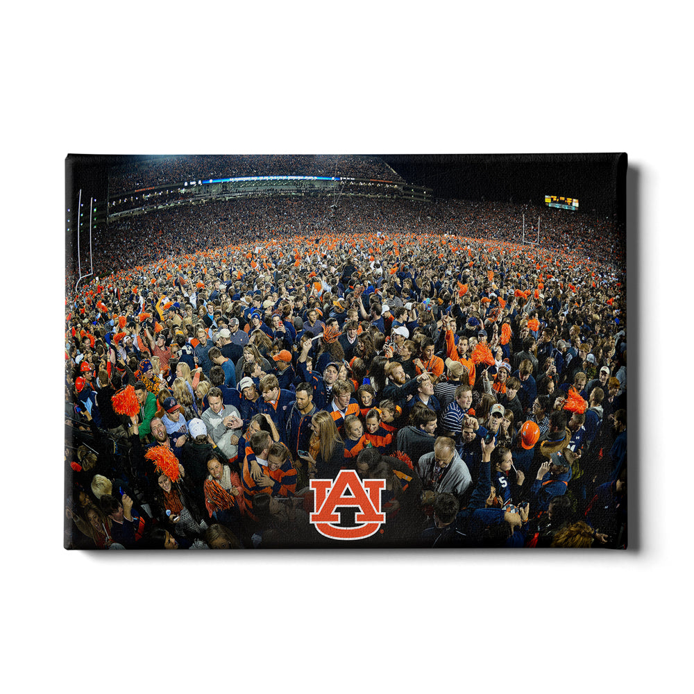 Auburn Tigers - Iron Bowl Storm the Field - College Wall Art#Canvas