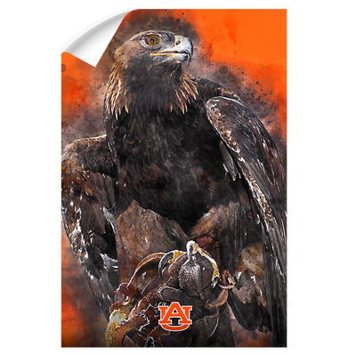 Auburn Tigers - War Eagle Paint - College Wall Art#Wall Decal