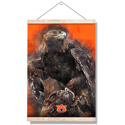 Auburn Tigers - War Eagle Paint - College Wall Art#Hanging Canvas