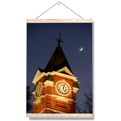 Auburn Tigers - Samford Tower - College Wall Art#Hanging Canvas