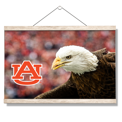 Auburn Tigers - War Eagle Up Close - College Wall Art#Hanging Canvas