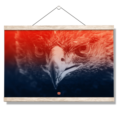 Auburn Tigers - Greetings War Eagle - College Wall Art#Hanging Canvas
