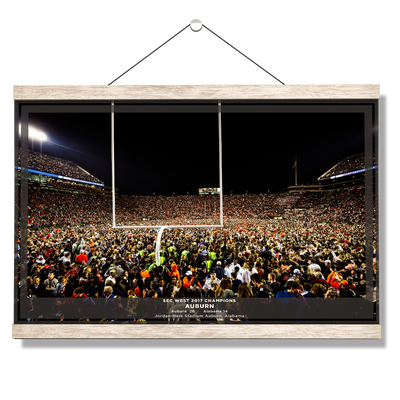 Auburn Tigers - Iron Bowl Champs 2017 - College Wall Art#Hanging Canvas