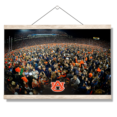 Auburn Tigers - Iron Bowl Storm the Field - College Wall Art#Hanging Canvas