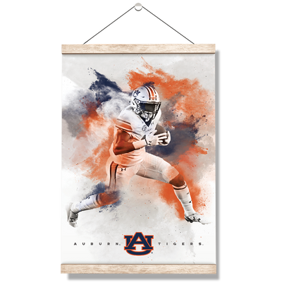 Auburn Tigers - Epic Run - College Wall Art#Hanging Canvas