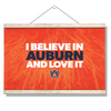 Auburn Tigers - I Believe in Auburn - College Wall Art#Hanging Canvas