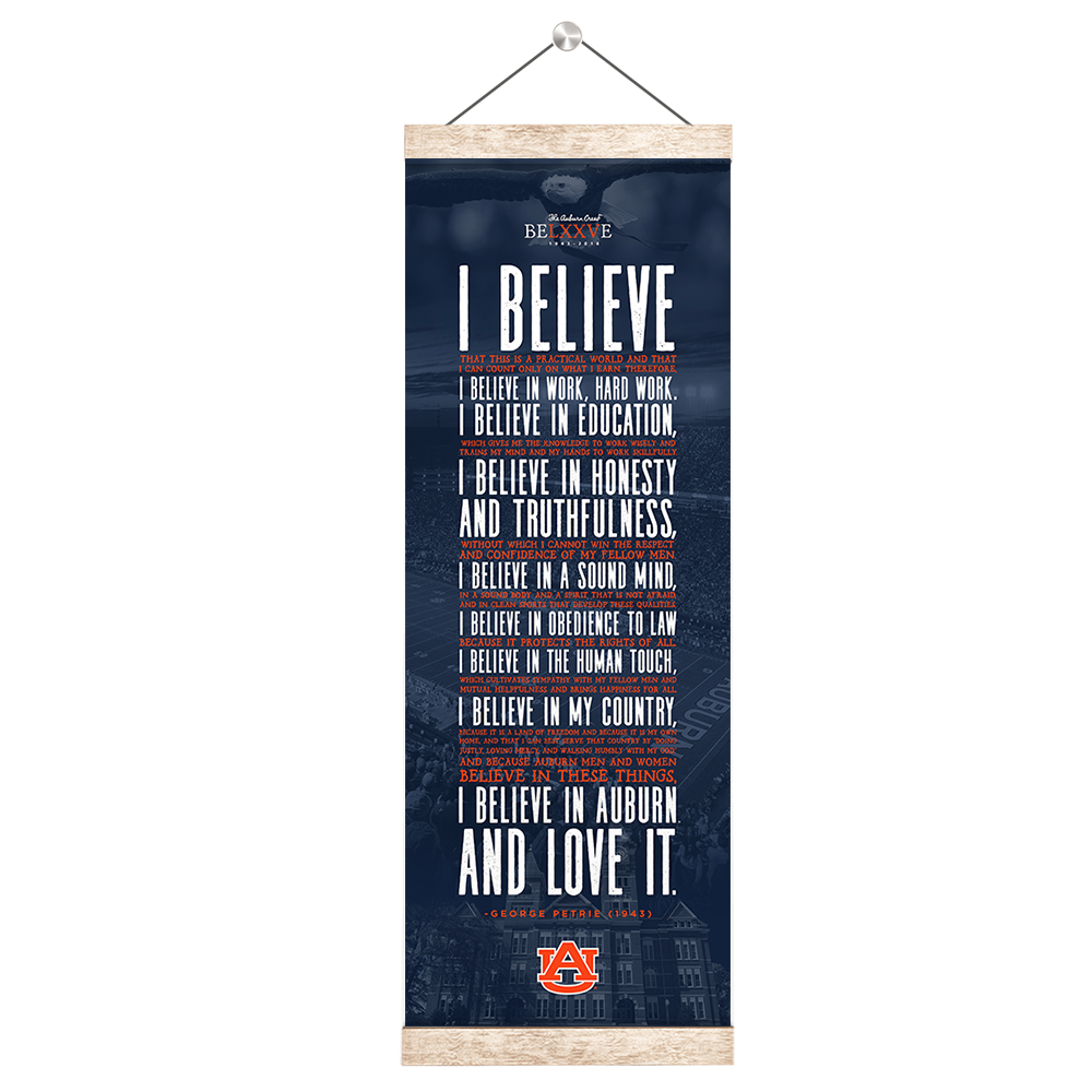 Auburn Tigers - I Believe - College Wall Art#Canvas