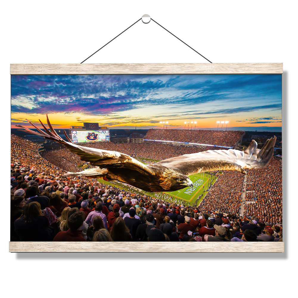 Auburn Tigers - The War Eagle Flight- College Wall Art#Canvas