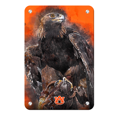 Auburn Tigers - War Eagle Paint - College Wall Art#Metal