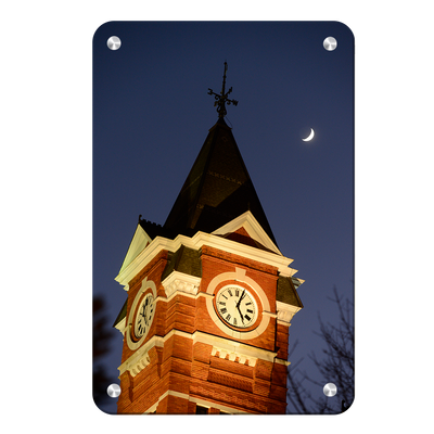 Auburn Tigers - Samford Tower - College Wall Art#Metal