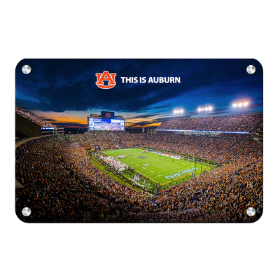 Auburn Tigers - This is Auburn - College Wall Art#Metal