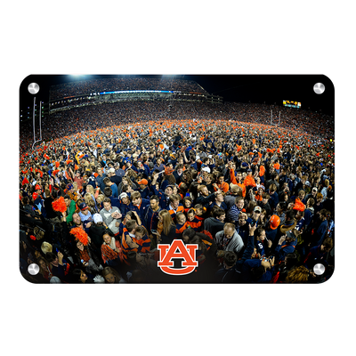 Auburn Tigers - Iron Bowl Storm the Field - College Wall Art#Metal