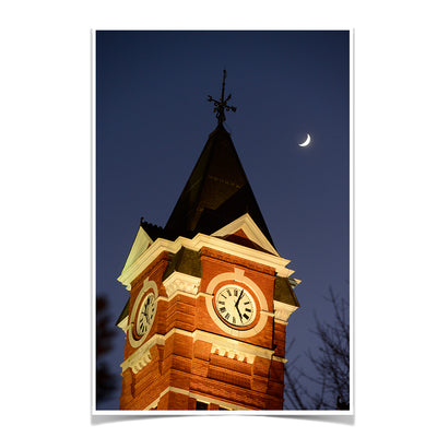 Auburn Tigers - Samford Tower - College Wall Art#Poster
