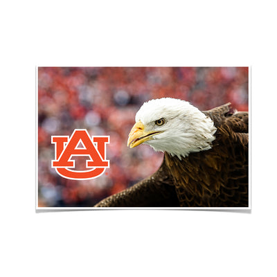 Auburn Tigers - War Eagle Up Close - College Wall Art#Poster