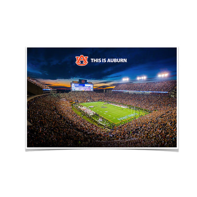 Auburn Tigers - This is Auburn - College Wall Art#Poster