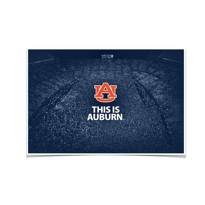 Auburn Tigers - This is Auburn Iron Bowl - College Wall Art#Poster