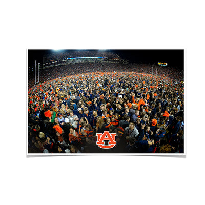 Auburn Tigers - Iron Bowl Storm the Field - College Wall Art#Poster