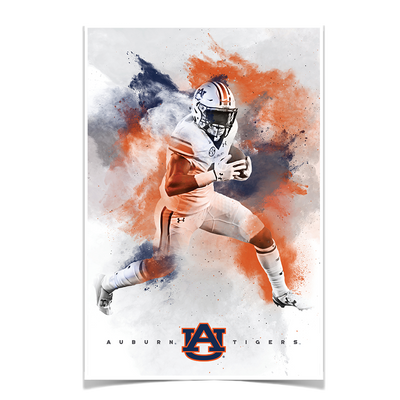 Auburn Tigers - Epic Run - College Wall Art#Poster