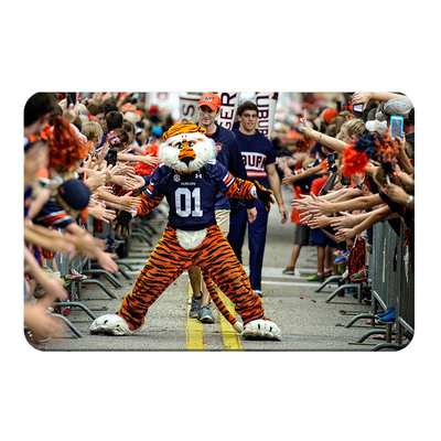 Auburn Tigers - Aubie at the Tiger Walk - College Wall Art#PVC