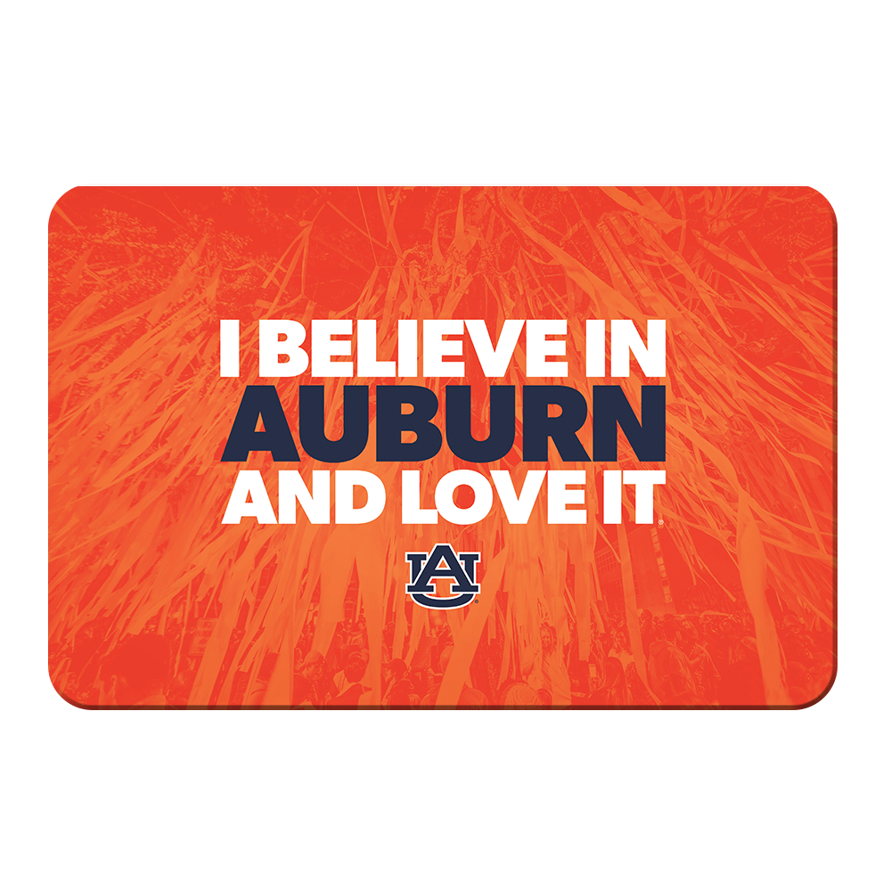 Auburn Tigers - I Believe in Auburn - College Wall Art#Canvas
