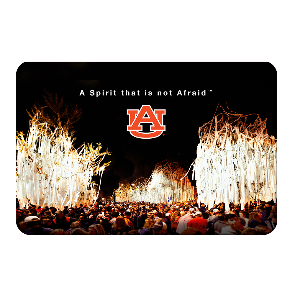 Auburn Tigers - A Spirit That Is Not Afraid - College Wall Art#Canvas
