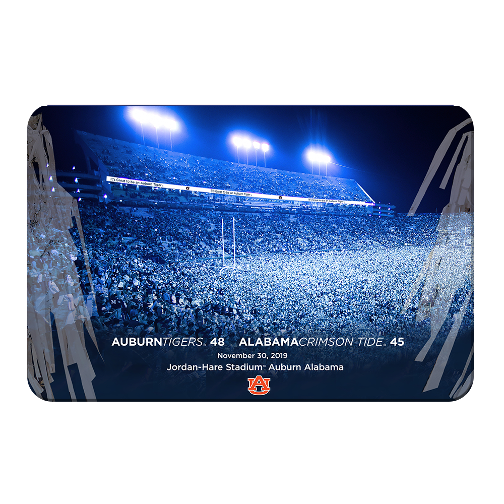 Auburn Tigers - Iron Bowl Win - College Wall Art#Canvas