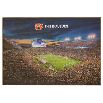 Auburn Tigers - This is Auburn - College Wall Art#Wood
