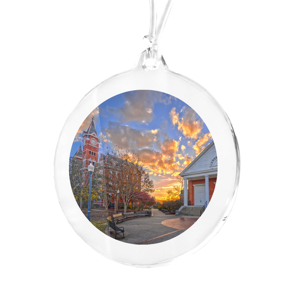 Auburn Tigers - Samford Sunset Bag Tag & Ornament