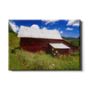 Red Barn - College Wall Art
