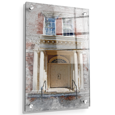 ETSU - The Door Sketch - College Wall Art#Acrylic
