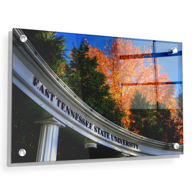 ETSU - Autumn Blaze - College Wall Art#Acrylic