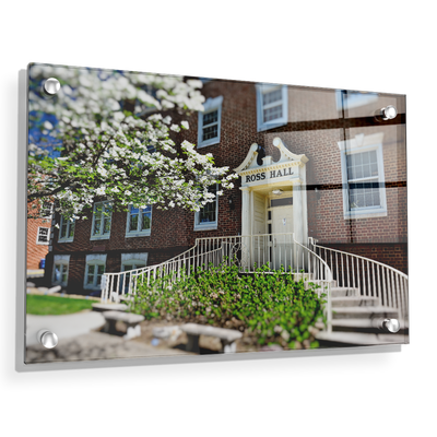 ETSU - Ross Hall - College Wall Art#Acrylic