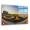 ETSU - Bucs End Zone - College Wall Art#Acrylic