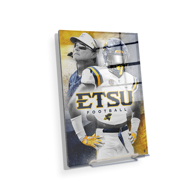 ETSU - Bucs - College Wall Art#Acrylic Mini
