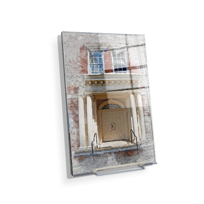 ETSU - The Door Sketch - College Wall Art#Acrylic Mini