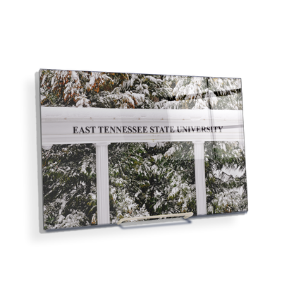 ETSU - East Tennessee Snow - College Wall Art#Acrylic Mini