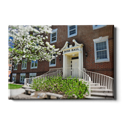 ETSU - Ross Hall - College Wall Art #Canvas