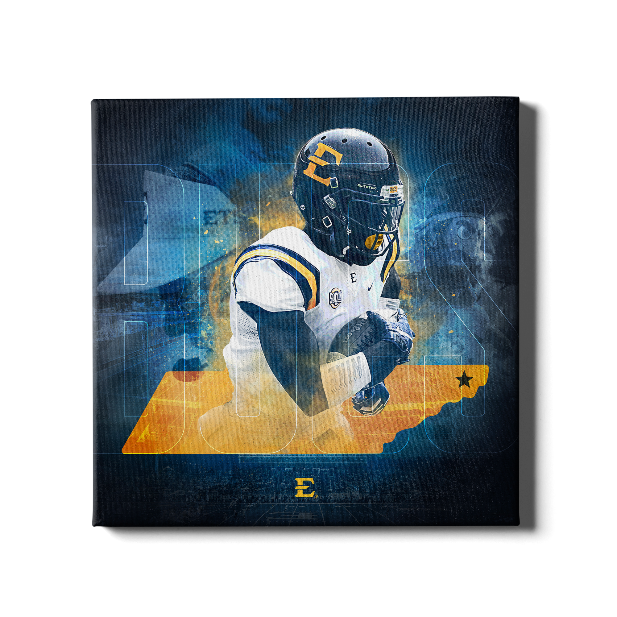 ETSU - Bucs State - College Wall Art#Canvas