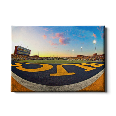 ETSU - Bucs End Zone - College Wall Art#Canvas